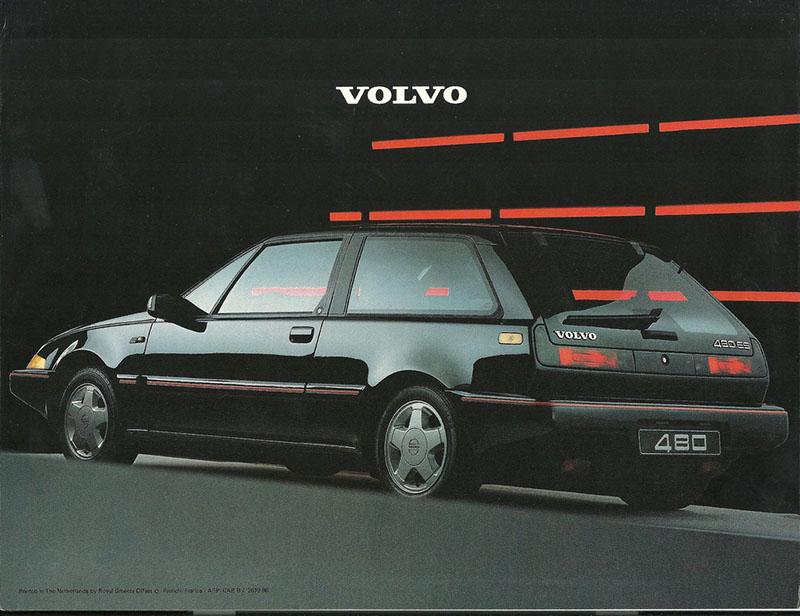 Foto Exteriores (13) Volvo 480-se Cupe 1986