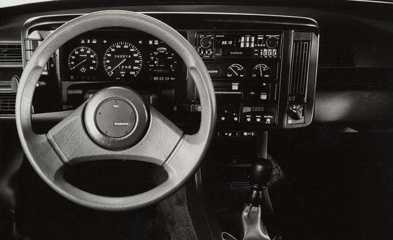 Foto Salpicadero Volvo 480 Se Cupe 1986