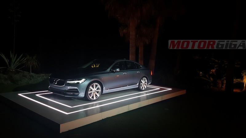 Foto Exteriores Volvo S90 V90 Presentacion Berlina 2016