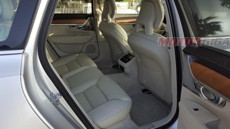 Foto Interiores Volvo S90 V90 Presentacion Berlina 2016