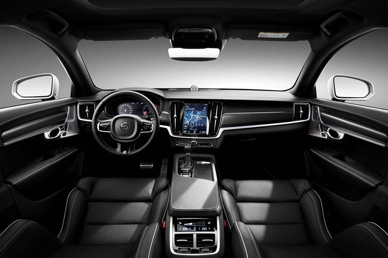 Foto Salpicadero Volvo S90 R Design Sedan 2017