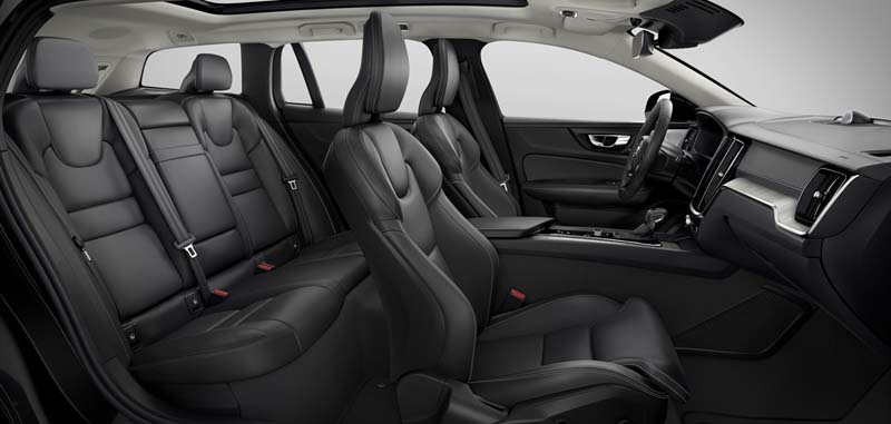 Foto Interiores Volvo V60 Cross Country Familiar 2019