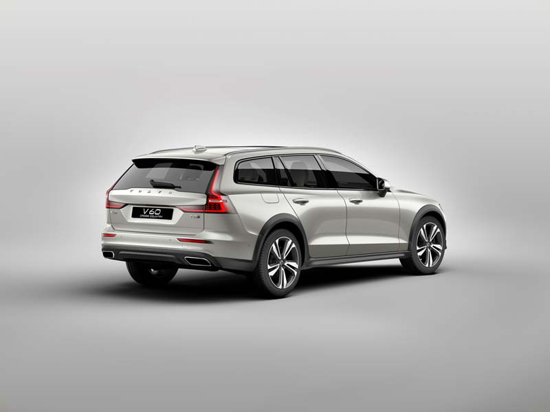 Foto Trasera Volvo V60 Cross Country Familiar 2019