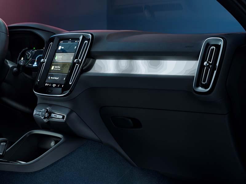 Foto Salpicadero Volvo C40 Suv Todocamino 2021