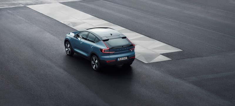 Foto Trasera Volvo C40 Suv Todocamino 2021