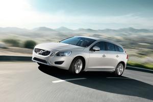 Foto Delantera Volvo V60 Familiar 2010