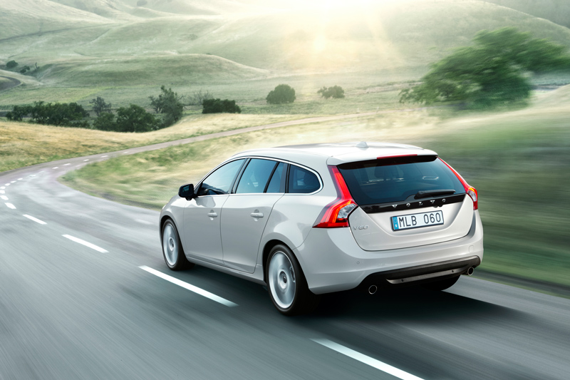 Foto Exteriores Volvo V60 Familiar 2010