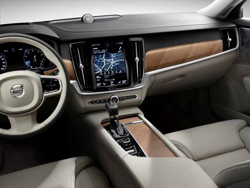 Foto Interiores 1 Volvo V90 Familiar 2016