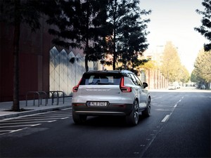 Foto Trasera Volvo Xc40 Suv Todocamino 2018