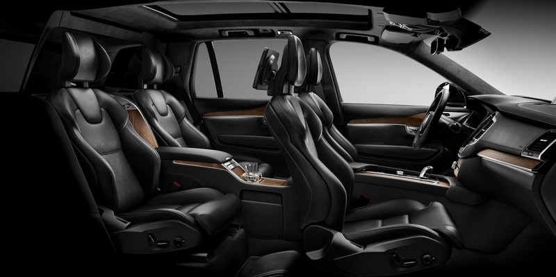 Foto Interiores Volvo Xc90 Excellence Suv Todocamino 2016