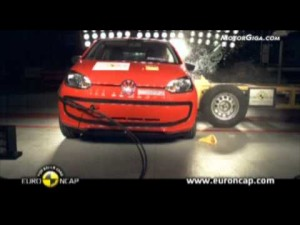 Vídeo Volkswagen up 2011 Euroncap