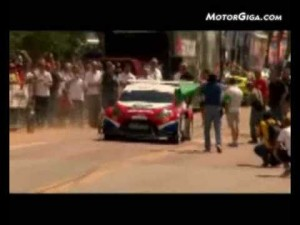 Video - Ford Fiesta en Pikes Peak