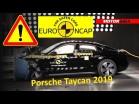 Cómo de seguro es el Porsche Taycan 2019 test EuroNCAP