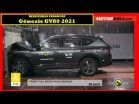 Cómo de seguro es el GENESIS GV80 2021