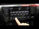 Skoda Superb 2015 sistema infotainment