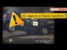 Como de seguro es el Dacia Sandero 2013 Test Euro NCAP