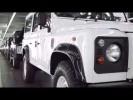 Así se fabrica el Land Rover Defender 2015