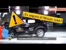 Como de seguro es el Nissan Juke 2020 Test Euro NCAP