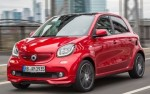smart BRABUS forfour 80 kW (109 CV) twinamic (2016)