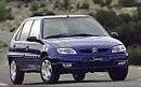 Ver precios y fichas técnicas Citroën Saxo