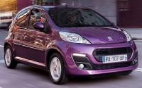 Ver precios y fichas técnicas Peugeot 107