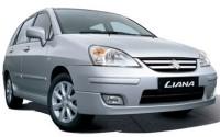 Ver precios y fichas técnicas Suzuki Liana