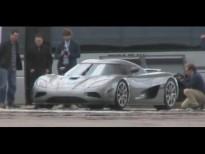 Koenigsegg Agera en el circuito de la marca