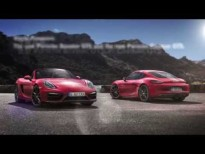 Porsche Boxster GTS and Cayman GTS celebrate debut in Beijing