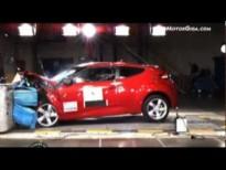 Vídeo Hyundai Veloster 2011 Euroncap