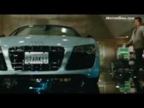 video Audi R8 V10 Spyder promocional Ironman2