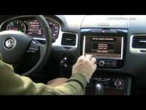 Video Volkswagen Touareg -sistema infotainment-