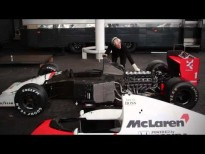 FIRE UP: 1991 McLaren MP4/6 V12