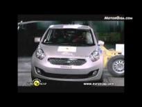 Vídeo kia venga 2010, test euroncap de choque