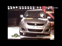 Vídeo suzuki swift 2010 test euroncap,prueba de choque