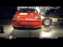 Vídeo Volkswagen up 2011 Euroncap
