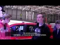 Genève 2014 : les visiteurs à la rencontre de Nouvelle Renault Twingo