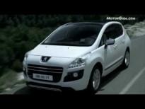 Hybrid4, sistema del Peugeot 3008