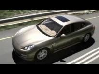Video - Porsche Panamera y Panamera4 -exterior y motores-