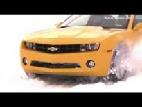 Video - Chevrolet Camaro sobre nieve