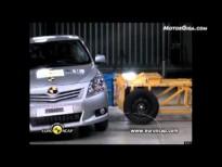 Vídeo Toyota Verso 2010, test euroncap, prueba de choque