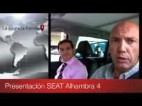 Vídeo SEAT Alhambra 4 y TDI 115 CV