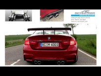 Así suena el BMW M4 Coupé con sistema de escape AC Schnitzer