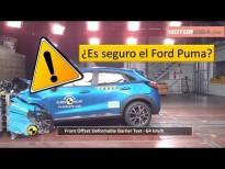 Como de seguro es el Ford Puma Test Euro NCAP 2020