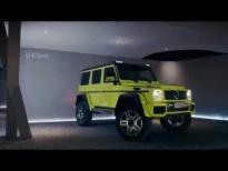 Nuevo Mercedes-Benz G 500 4x4²: nada te dentendrá