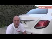Analisis plazas posteriores Mercedes Benz Clase E 2016
