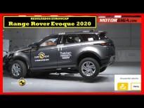 Cómo de seguro es el Range Rover Evoque 2020