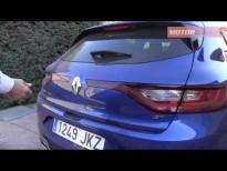 Renault Megane GT plazas posteriores y maletero