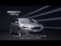 Nuevo Peugeot 308 SW: diseño exterior