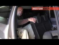 Dacia Lodgy: 2a y 3a fila de asientos