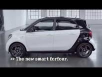 La inteligencia de las cuatro plazas del nuevo Smart forfour.